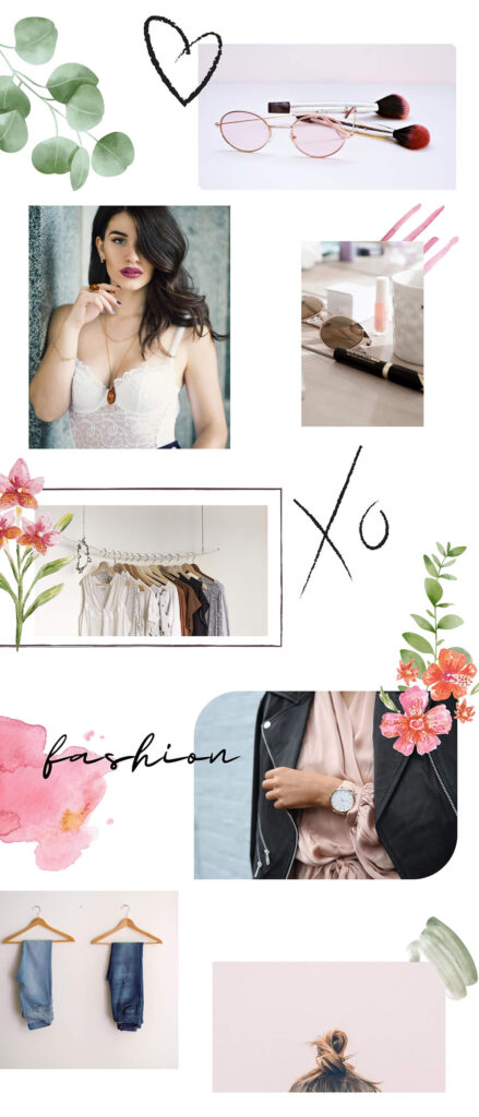 Fashion Instagram puzzle feed mřížka - creomat